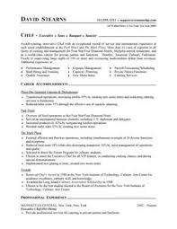 professional resume cover letter sample chef resume free sample culinary resume chief baker resume