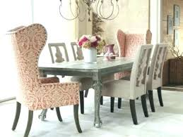 dining room chair slipcovers shabby chic lovely charming chairs table and