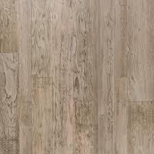 Mohawk True Design Platinum Grey Light Gray Hickory Hand Scraped Engineered Hardwood