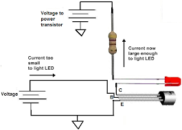 how to connect a transistor in a circuit for current amplification npn transistor circuit