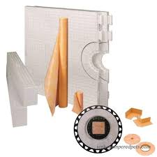 32 x 60 shower kit kerdi shower kit 32 x 60 tray shower kit center drain