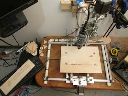 picture of diy aluminum 3 axis cnc router