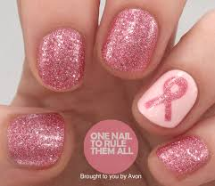 One Nail To Rule Them All: Breast Cancer Awareness Nail Art for Avon