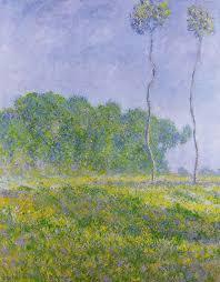 claude monet spring landscape
