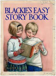cicely mary barker blackie s easy story book book cover artwork 1924
