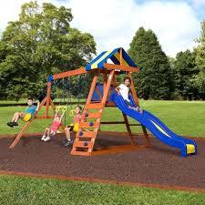 all cedar swing set backyard discovery tanglewood wood reviews