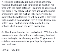 Angry Wife Writes Best Letter Ever To Cheating Husband S Mistress