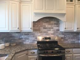 brick painting ideasKitchen Remodelaholic Tiny Kitchen Renovation With Faux Painted
