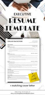 Executive Resume Ats Friendly Resume Instant Download Minimalist