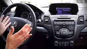 northeastacura demonstrating voice commands in acura technology package northeast acura
