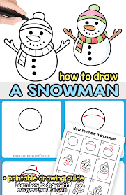 Christmas ornament hanging on white isolated background. How To Draw A Snowman Step By Step Drawing Guide Easy Peasy And Fun