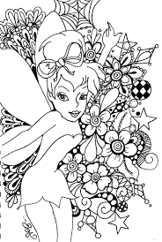 Free Printable Tinkerbell Coloring Pages For Kids Art