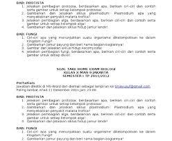 Untuk materi dan soal bahasa indonesia lainnya bisa kalian lihat di sini. Soal Biologi Sma Kelas X Semester 2 Dan Kunci Jawabannya Jurnal Doc