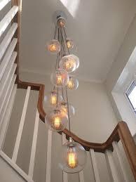 bespoke 15 way staggered cer chandelier