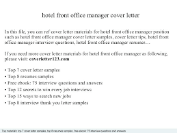 Cover Letter Medical Adorable Medical Office Manager Cover Letter R Quickplumberus