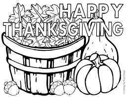 Small Picture Happy Thanksgiving Coloring Activity Pages Happy Thanksgiving 3