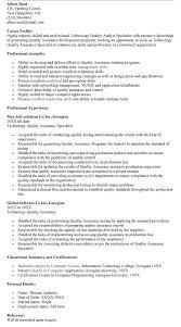 qa sample resume 25052017 quality assurance resume example