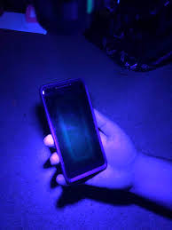 Black Light From Phone What Is This Box On My Phone Screen Under Blacklight Revvl
