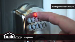 How To Program Schlage Electronic Deadbolts YouTube