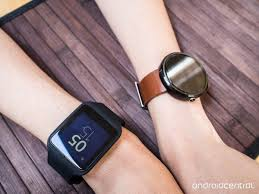 android wear almost isn t worth it for small wristed folk jen moto 360 and sony smartwatch 3