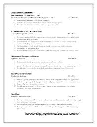 Profiles On Resumes Profile Resume Examples On Example Career As Resumes Spacesheep Co