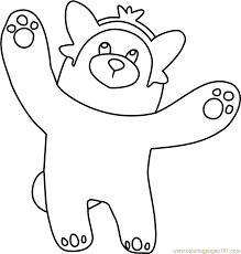 Small Picture Bewear Pokemon Sun and Moon Coloring Page Free Pokmon Sun and