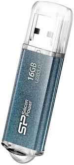 Купить <b>USB</b>-<b>накопитель Silicon Power Marvel</b> M01 16Gb Blue по ...
