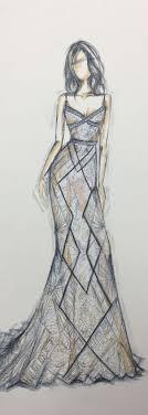 Best 25 Dress Design Sketches Ideas On Pinterest Fashion