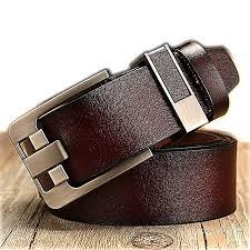 men s belt retro leather wide leather belt leather belt pin buckle casual wild belt men s