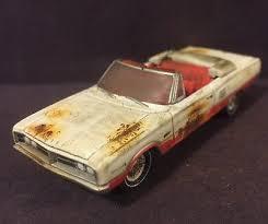 dodge coronet zeppy io 1966 dodge coronet custom weathered 1 64 diecast farm diorama patina convertible