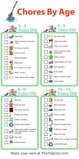 Make Your Own Responsibility Chart Make Your Own Chore Chart Plus Lots Of Other Printable