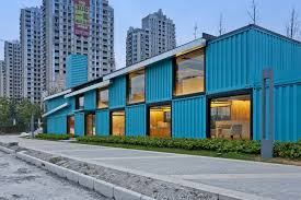 container office building. Gallery Of Container Sale Office / Atelier XÜK - 12 Building