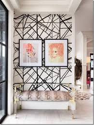 Use your entryway wallpaper to balance your home's existing style and color  palette.