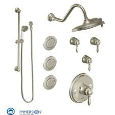 a large image of the moen 3096 brushed nickel