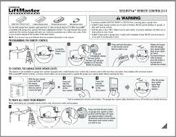 liftmaster error code 4 6 sears chamberlain 3 on remote control garage door liftmaster user manual