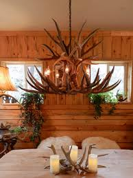 our extremely popular custom centerpiece antler chandelier using large mule deer antlers mule deer make up the bulk of this impressive not wimpy