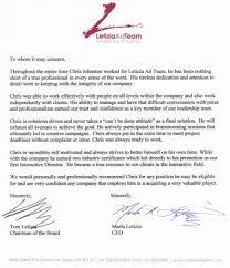 Chris M Johnston S Fan Club Recommendation Letters