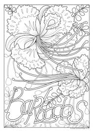 flower colouring pictures. Brilliant Colouring Barbados National Flower Colouring Page And Pictures C