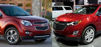 new 2018 chevy equinox vs old model