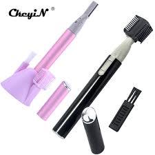 eyebrow trimmer men. ckeyin 2pcs lady eyebrow trimmer women ladies body shaver razor epilator for men personal care