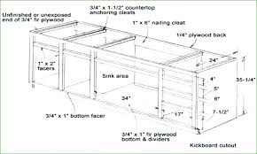 Standard Height For Kitchen Cabinets Impressive Decorating Ideas