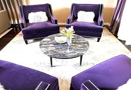 purple tufted chair large size of and ottoman barrel accent velvet occasional