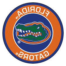 photo 1 of 9 florida gators rug 1 university of florida gators logo roundel mat 27