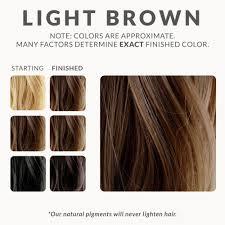 Light Brown Hair Color Light Brown Henna Hair Dye Henna Color Lab Henna Hair Dye
