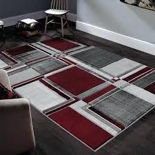 allstar rugs rugs hand carved grey and white rectangular accent area rug with red abstract geometric allstar rugs bold idea red area