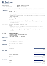 Employee Of The Month On Resume Call Center Resume Sample And Complete Guide 20 Examples