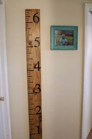 Growth Chart Hobby Lobby Mommy Vignettes Wood Growth Chart Tutorial