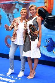 Ellen And Portia Ellen Degeneres And Portia De Rossi At The Finding Dory Uk