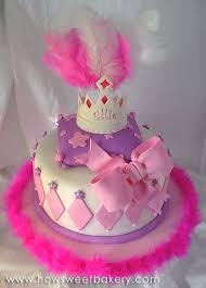 Love This Girly Birthday Cake I Think I Will Use The Idea For