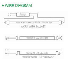 led 15 watt t8 direct wire or plug and play tube led wholesale Led T8 Hybrid Series Wiring Diagram With Out A Ballast led 15 watt t8 direct wire or plug and play tube